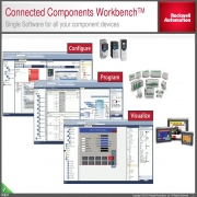 دانلود نرم افزارConnected Components Workbench  برای برنامه ریزی درایو پاور فلکس